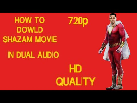 How to download shazam full movie in english