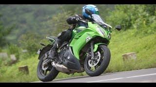 11. 2012 Kawasaki Ninja 650 in India road test