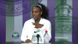 Serena Williams final press conference