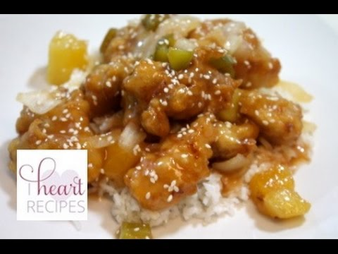How to make Sweet and Sour Chicken – Easy Recipe – I Heart Recipes