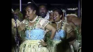 A group from Atafu Atoll represented Tokelau at the 7th Festival of Pacific Arts in Samoa in 1996.