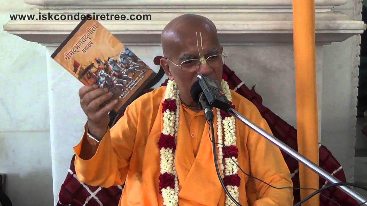 Cause of not having Taste in Chanting (Hindi) by Gopal Krishna Goswami at ISKCON Mira Road