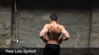 #AskKenneth78: Bodybuilding Posing Routine on 10.4.2017