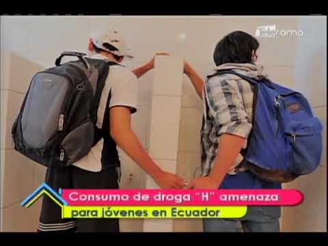 Consumo de droga H amenaza para jóvenes en Ecuador