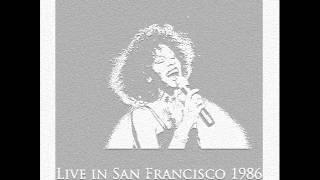 3. Whitney Houston - You Give Good Love (Live in San Francisco, 1986)