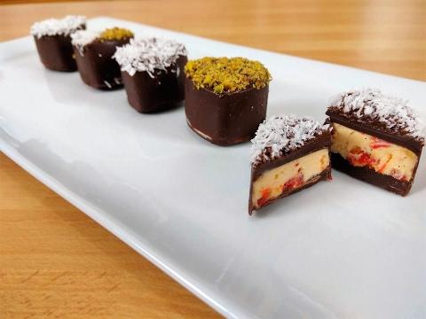 cioccolatini all'amortentia - ricetta