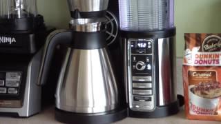 Cleaning The Ninja Coffee Bar using Vinegar