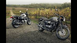 4. The New 2018 Triumph Bonneville T120 Colors Muscle Bike