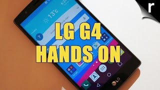 LG G4 Hands-on Review