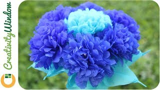 Royal blue is one of the elegant colors that is used as motif during special occasion like wedding, debut, anniversaries, and birthday celebration. It becomes more stunning when sky blue is added into the composition.On this video, we created a an easy-to-make centerpiece with riyal blue motif using crepe paper and wine glass.