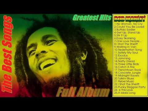 Bob Marley Greatest Hits Full Album_The best Songs Of Bob Marley Nonstop Playlist