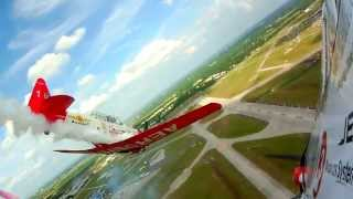 Fly High with the Aeroshell Aerobatic Team