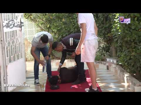 العرب اليوم - شاهد: النجم المغربي يوسف القديوي يقع في أحد المقالب التلفزيونية