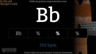 """Cours vidéos en Jazz Manouche : http://www.guitare-improvisation.com/video_tous-les-cours-videos.phpIf this one chord Play-along helped you getting better please donate here : https://goo.gl/B9eXzkSi ce Backing Track """"1 seul accord"""" vous a aidé à progresser pensez à soutenir mon travail en faisant un don ici : https://goo.gl/B9eXzkContrebasse : Felipe Sequeira  http://www.felipesequeira.comGuitares : Martin Gioani  http://www.martingioani.com:::::::::::::::::::::::::::::::::::::::::::::::::::::::::::::::::::::::::::::::::::::Pour suivre les actualités du site (tutoriels, playbacks) abonnez-vous à cette chaîne Youtube et à la page Facebook : https://www.facebook.com/GuitareImprovisation"""