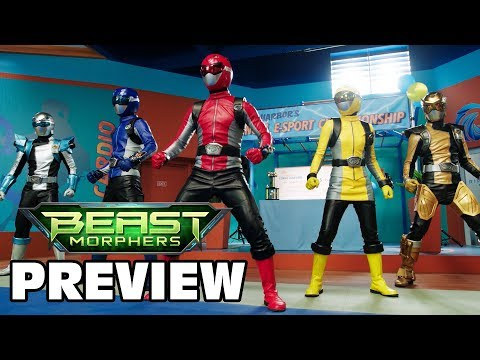 "Power Rangers Official | Beast Morphers Episode 3 Preview | ""Game On!"" Official First Look"