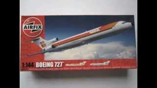 Video My first airliner kit: Airfix´s 1/144th Boeing 727-200. MP3, 3GP, MP4, WEBM, AVI, FLV Agustus 2018