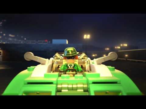 Конструктор Гоночный автомобиль Загадочника - LEGO BATMAN - фото № 12