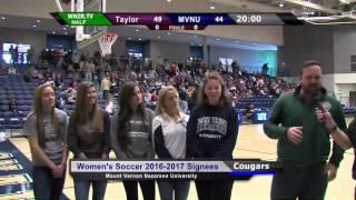 2016 MVNU Women's Soccer Recruiting Class