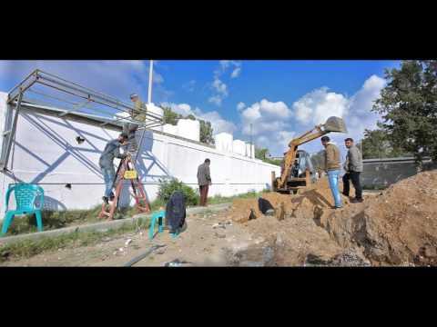 فيلم إنشاء محطة التحلية لبئر نادي بيت لاهيا - منطقة المنشية