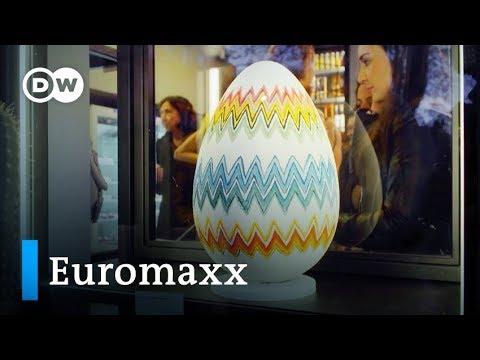Kunstvolle Riesenostereier aus Rom | Euromaxx