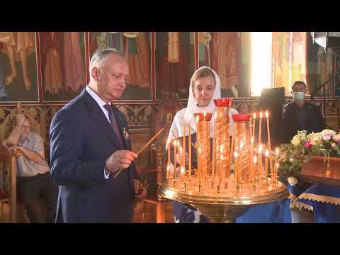 Президентская чета посетила старейший монастырь нашей страны