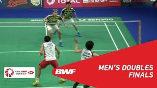 Video F | MD | GIDEON/SUKAMULJO (INA) [1] vs KAMURA/SONODA (JPN) [4] | BWF 2018 MP3, 3GP, MP4, WEBM, AVI, FLV November 2018