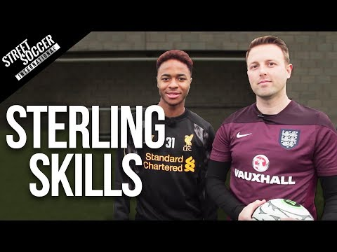 Sterling - Liverpool & England star Raheem Sterling shows you how easy he beats a player. You will see this in World Cup 2014 SUBSCRIBE Best football videos http://goo....
