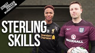Learn Football Skills With Raheem Sterling - Liverpool&England Star 2014