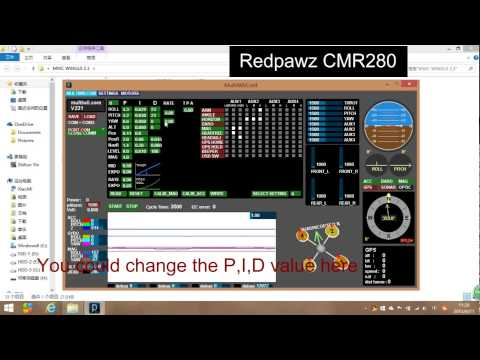 RedPawz CMR280 - MWC configuration