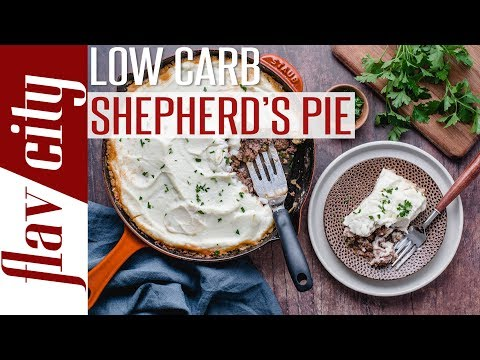 Low carb diet - How To Make Low Carb Shepherd's Pie - Keto Comfort Food