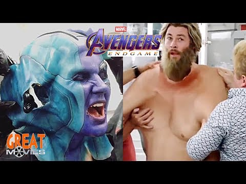 AVENGERS ENDGAME ACTORS MAKEUP & REMOVE BEFORE AND AFTER GreatMovies