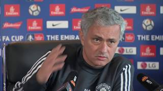 "Video Jose Mourinho's ""I am alive!"" rant 