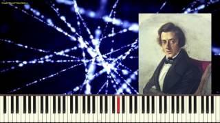 Вальс ре бемоль мажор - Ф. Шопен ( Waltz in D-flat_Op.64 No.1_Chopin(Пример игры на пианино)
