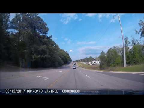Minor Road Rage in Tuscaloosa, Alabama