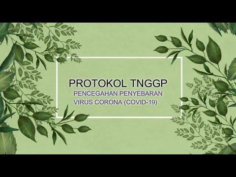 Protokol BBTNGGP Dalam Pencegahan Penyebaran Virus Corona
