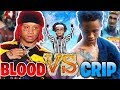 BLOOD vs CRIP in FORTNITE?! MATCH of THE YEAR! Fortnite: Battle Royale