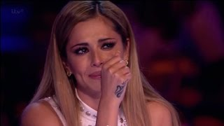 Andrea Makes Cheryl Cole Cry - STUNNING VOCAL! -