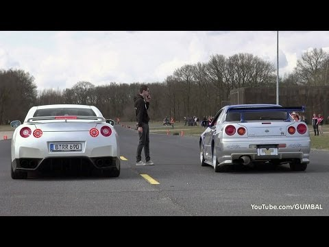 nissan skyline drag race