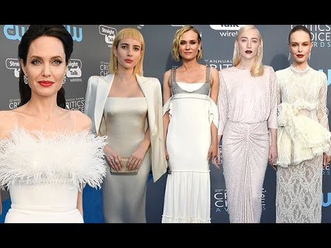 Critics' Choice Awards: The ladies lead the red carpet