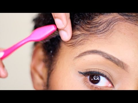 How To: Carmen's Edges & Sideburn Swoops (видео)