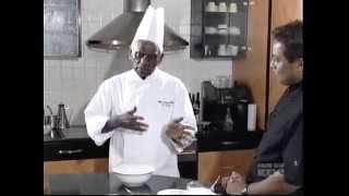 Chef happyK with Chef Pablis Sri Lankan Fish curry @ Culinary Corner