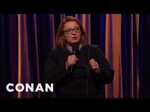 Jackie Kashian StandUp on Conan
