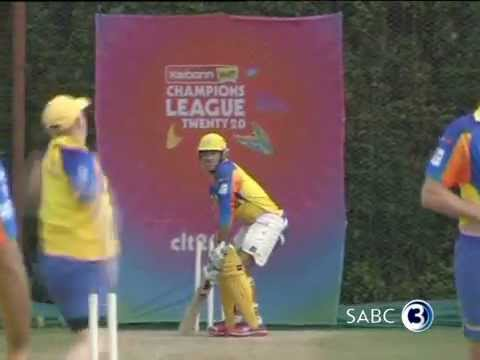 JAKATI - http://www.topbilling.com Tune in this week to see the full interview, where Simba chats to the Chennai Super Kings players, Scott Styris, Shadab Jakati and ...