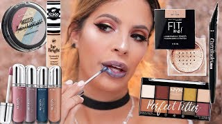 Video NEW DRUGSTORE MAKEUP FIRST IMPRESSIONS | HIT OR MISS? MP3, 3GP, MP4, WEBM, AVI, FLV Maret 2018