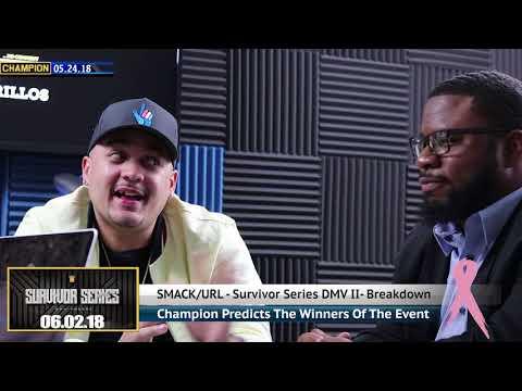 CHAMPION   (TECH 9 VS JIMZ) SURVIVOR SERIES DMV II PART 2 - SMACK/URL (видео)