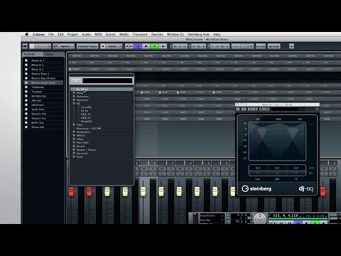 Cubase 7 – New Features Video Tutorials – Chapter 3 – Workflows for professionals
