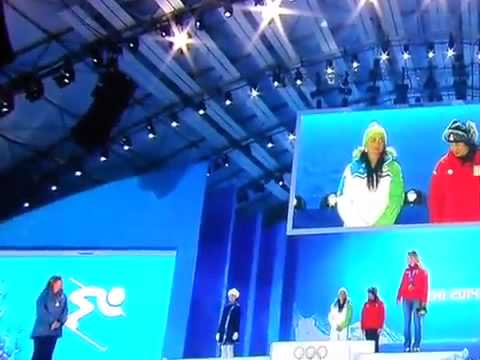 Sochi 2014 – Sochi 2014: Tina Maze received gold medal! 14.02.2014