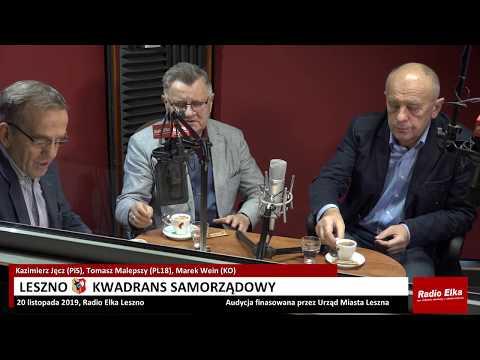 Wideo1: Leszno Kwadrans Samorządowy: K. Jęcz (PiS), T. Malepszy (PL18), M. Wein (KO)