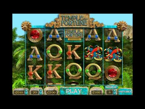 Big Time Gaming Temple of Fortune Video Slot