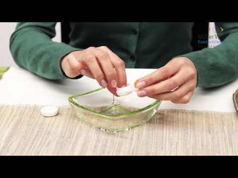 Formstabile Kontaktlinsen aufsetzen
